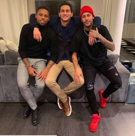 Neymar brincou com torcida santista em publicação no Instagram (Foto: Reprodução/Instagram)
