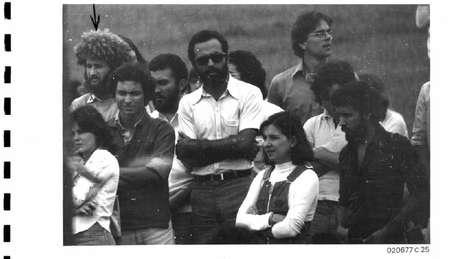 Estudantes e professores identificados ao participar de manifestações. Na foto, estudantes da UnB