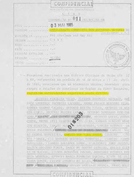 """Carlos Von Doellinger foi incluído numa lista de """"infiltrados comunistas"""" em 1985"""