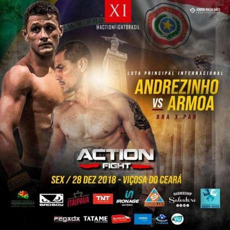 Action Fight 11 será realizado com uma promessa de um grande evento para fechar o ano de 2018 (Foto: Divulgação)