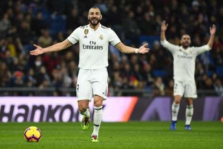 Benzema marcou o único gol da partida deste sábado (AFP)