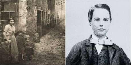 Lipton cresceu em um bairro pobre de Glasgow