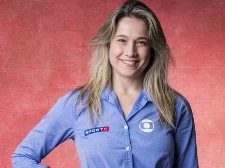 Fernanda Gentil foi homenageada com vídeo da sua trajetória no 'Esporte Espetacular'