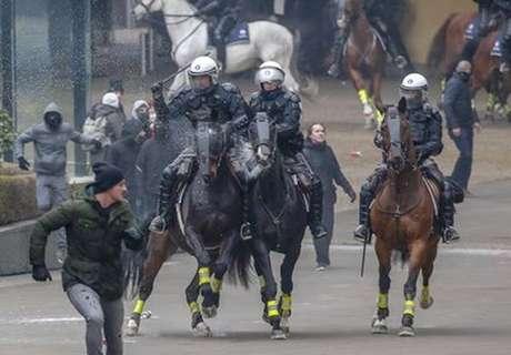 Bruxelas tem confrontos contra pacto de migração da ONU