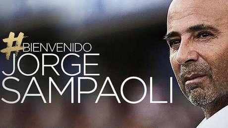 7f86405855 Santos anuncia a contratação do técnico Jorge Sampaoli oficialmente