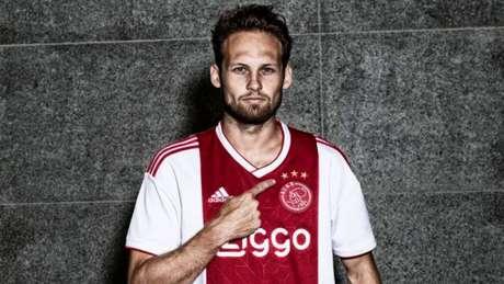 Blind marcou três gols na goleada do Ajax por 8 a 0 no Campeonato Holandês no último domingo (Divulgação/Ajax)