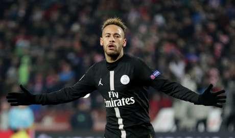 Neymar em ação pelo PSG