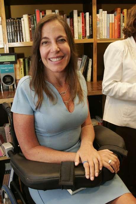 A senadora Mara Gabrilli, que usa o remédio à base de cannabis e encomendou a pesquisa