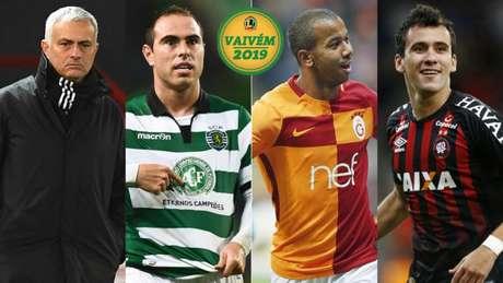 Mourinho, Bruno César, Mariano e Pablo movimentaram a manhã desta terça no mercado da bola (Divulgação)