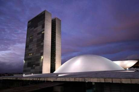 A fachada do Senado Federal