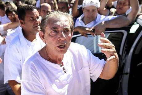 Médium João de Deus está presono Complexo Penitenciário de Aparecida de Goiânia desde o último domingo, 16