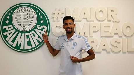Matheus Fernandes é o novo reforço do Palmeiras