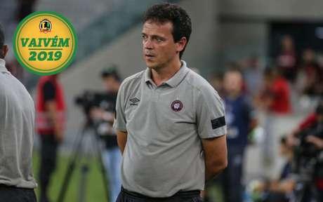 Fernando Diniz teve passagem recente pelo Atlético-PR (Foto: Reinaldo Reginato/Fotoarena)