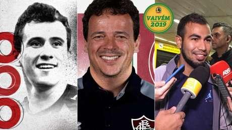 Pablo, Fernando Diniz e Sornoza agitaram o vaivém desta quarta-feira (Fotos: Divulgação)