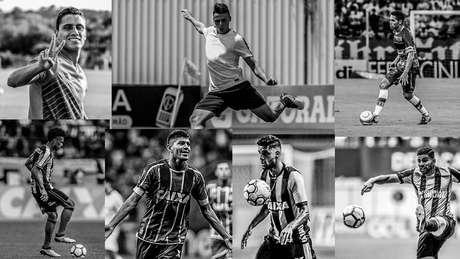 Luis Ricardo, Giovanni, Edson, Mantuan, Gerson Magrão, Igor Henrique e Dudu acertam contrato com a Ponte Preta para 2019.