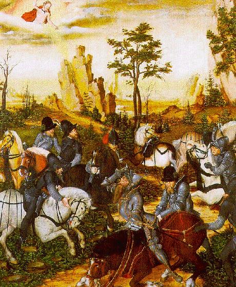 A conversão de S.Paulo ( Lucas Cranach)