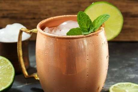 Drinque moscow mule