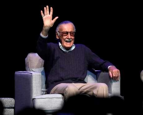 Stan Lee em evento na Califórnia, em 2017