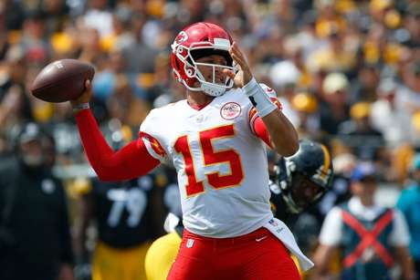Mahomes, craque do Kansas City (Justin K. Aller)