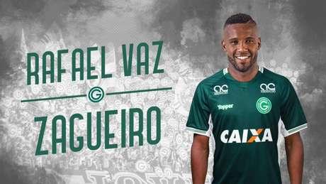 Rafael Vaz tinha vínculo com o Flamengo até o dia 31 de dezembro deste ano (Reprodução)