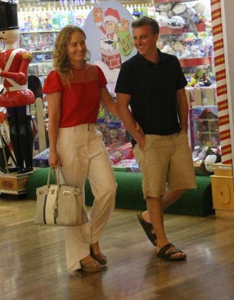 Angélica e Luciano Huck (Foto: AgNews)