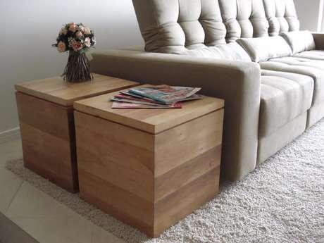 57. Os móveis baú ajudam bastante quem quer saber como organizar a casa. Foto de Bearspage