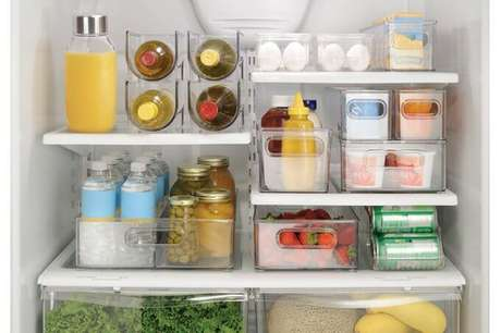 51. Saber organizar a geladeira é essencial para quem quer saber como organizar a cozinha. Foto de Casar É