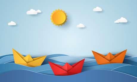 O Navio significa a aventura, o desbravar das oportunidades e novas terras.