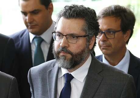 Futuro ministro das Relações Exteriores, Ernesto Araujo