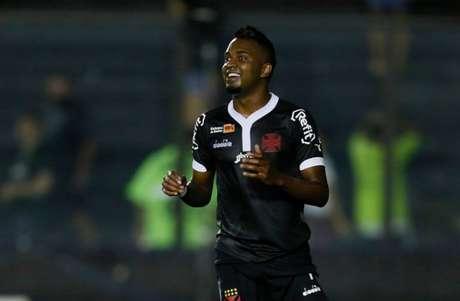 Atacante marcou um gol com a camisa vascaína em 2018 (Foto: Rafael Ribeiro/Vasco)