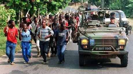 Os hutu eram a maioria em Ruanda, mas os tutsis tiveram por décadas acesso a melhores oportunidades