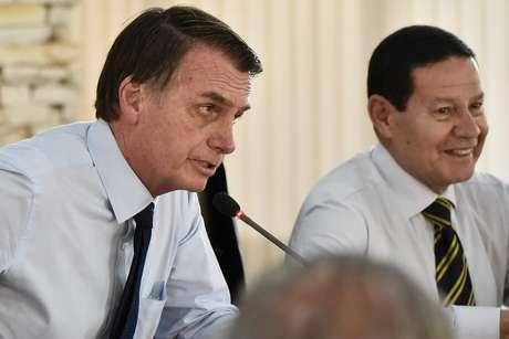 Presidente Jair Bolsonaro participa de reunião Ministerial na Granja do Torto