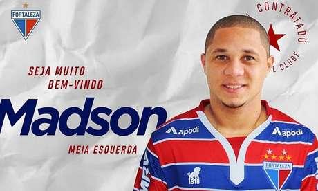 Madson é o novo reforço do Fortaleza