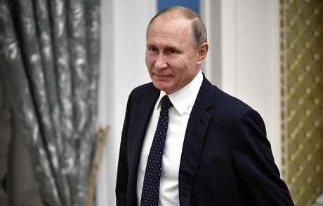 Putin durante reunião em Moscou  26/12/2018   Alexander Nemenov/Divulgação