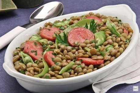 Receitas com lentilha para começar o ano com muita sorte!