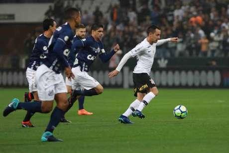 Corinthians e Santos devem se enfrentar na Arena em amistoso em janeiro de 2019(Foto: Ricardo Moreira/Fotoarena)