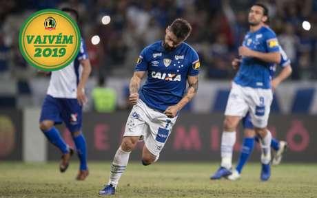 Quase fora do Cruzeiro, Sóbis negocia saída da Raposa, mas ainda não fechou (FOTO: Pedro Vale/AGIF)