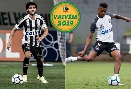 Victor Ferraz está na mira do São Paulo e Bruno Henrique recebeu proposta do Flamengo (Foto: Santos/Divulgação)