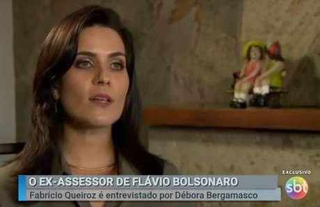 A repórter Débora Bergamasco trabalhou na Folha de S. Paulo, Estadão, IstoÉ e Época antes de estrear no SBT