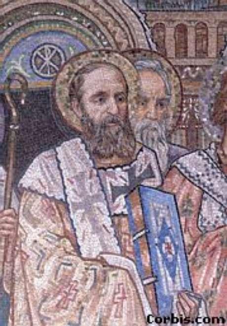 São Paulo aparamentado como bispo