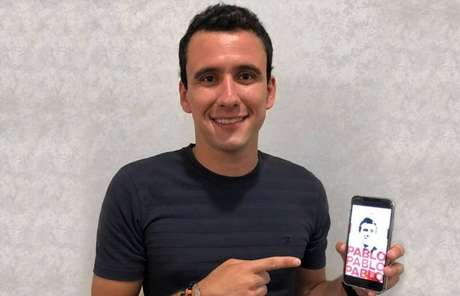 O atacante Pablo é o novo reforço do São Paulo para a temporada 2019.
