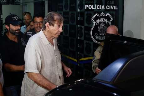 João de Deus, chega à polícia em Goiânia 16/12/2018 REUTERS/Metropoles/Igo Estrela