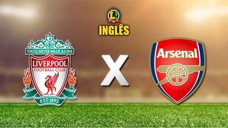 Liverpool e Arsenal fazem clássico no Inglês neste sábado (Foto: LANCE!)