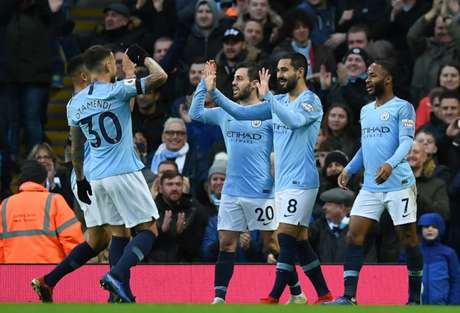 Se vencer, Manchester City recupera segunda posição da Premier League (Foto: PAUL ELLIS / AFP)