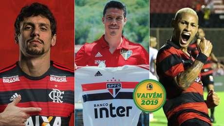 O dia foi agitado, com confirmações de jogadores nos clubes. Veja o resumo! (Foto: Divulgação/Twitter)