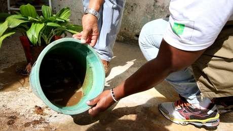 População deve evitar deixar água acumulada para ajudar a combater o Aedes aegypti