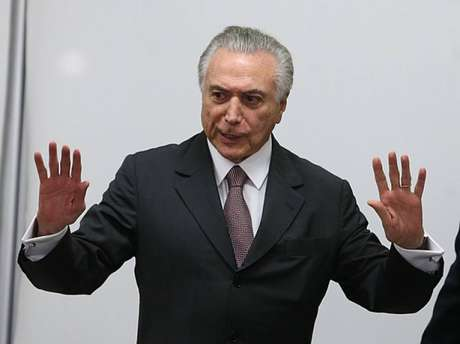 O ex-presidente Michel Temer (MDB)