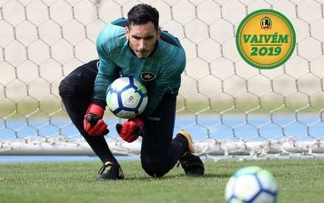 Gatito Fernández tem vínculo com o Botafogo até dezembro de 2021 (Foto: Divulgação/Botafogo)