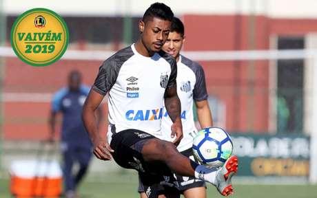 Bruno Henrique pode permanecer no Peixe (Foto: Divulgação/LANCE!)
