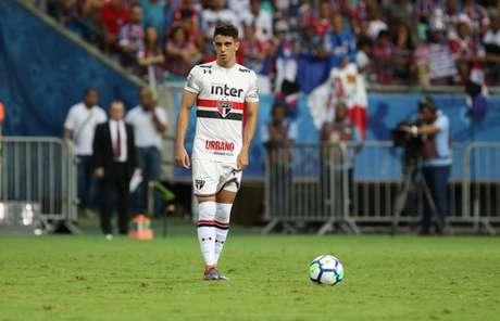 Shaylon chega ao Bahia para ser um dos responsáveis pelo setor ofensivo da equipe (Rubens Chiri/saopaulofc.net)